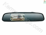 آینه خودرو مانیتوردار به همراه دوربین ساده