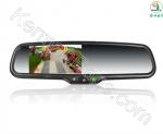 آینه خودرو مانیتور دار 4.5 اینچ با سه دوربین جلو و داخل و دنده عقب حرفه ای