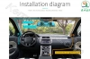 آینه خودرو مانیتور دار 5 اینچ دو دوربین دار ویژه